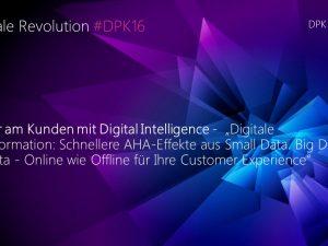 Deutsche Partnerkonferenz Microsoft 18. & 19.10.2016 in Bremen #DPK16