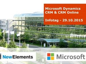 Microsoft Dynamics CRM: eine Win-2.0-Win Lösung für Unternehmen und Kunden  – Infotag am 29.10.2015